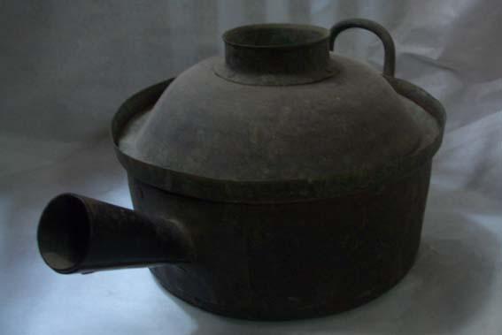 清代煎药铜锅