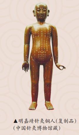 明嘉靖针灸铜人(复制品)