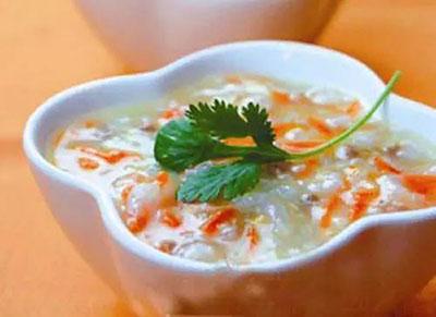 白芨萝卜粥