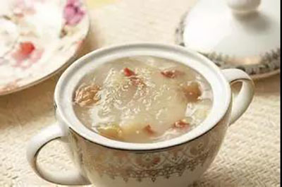 白芨燕窝粥