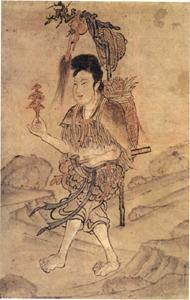 《神农采药图》与应县木塔