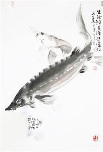 图说海洋本草之鲟鱼